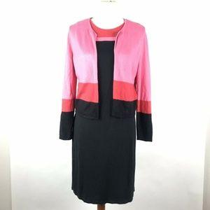 J.Jill Dress Suit Cardigan Size SP Two Piece